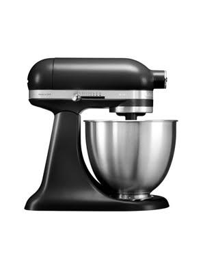 Máy trộn đứng đầu nghiêng KitchenAid Artisan® Mini 220V màu đen
