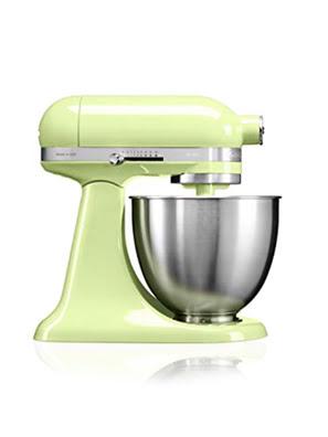 Máy trộn đứng đầu nghiêng KitchenAid Artisan® Mini 220V màu xanh lá