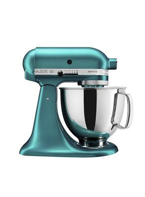 Máy trộn đứng đầu nghiêng KitchenAid Artisan® 220V màu xanh ngọc