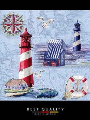 Khăn giấy ăn trang trí bàn tiệc ti-flair Tissue napkins DESIGN 33x33cm - 370230