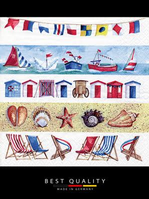 Khăn giấy ăn trang trí bàn tiệc ti-flair Tissue napkins DESIGN 33x33cm - 370413