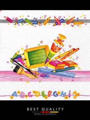 Khăn giấy ăn trang trí bàn tiệc ti-flair Tissue napkins DESIGN 33x33cm - 371719